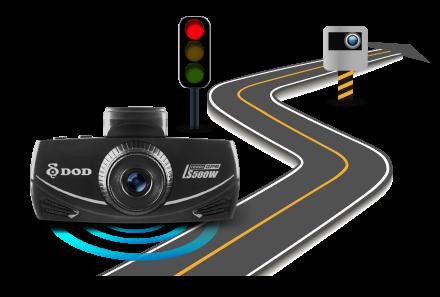 ls500w vcasne upozornenie prikazanej rychlosti