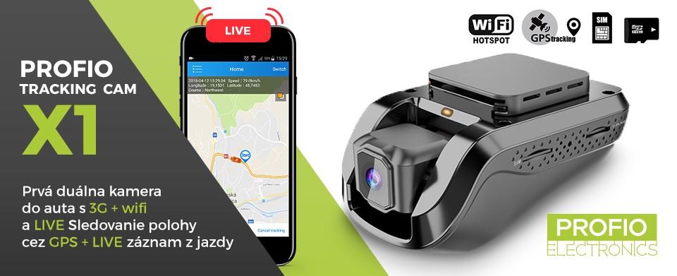 najlepšia kamera do auta s gps + live sledovanie