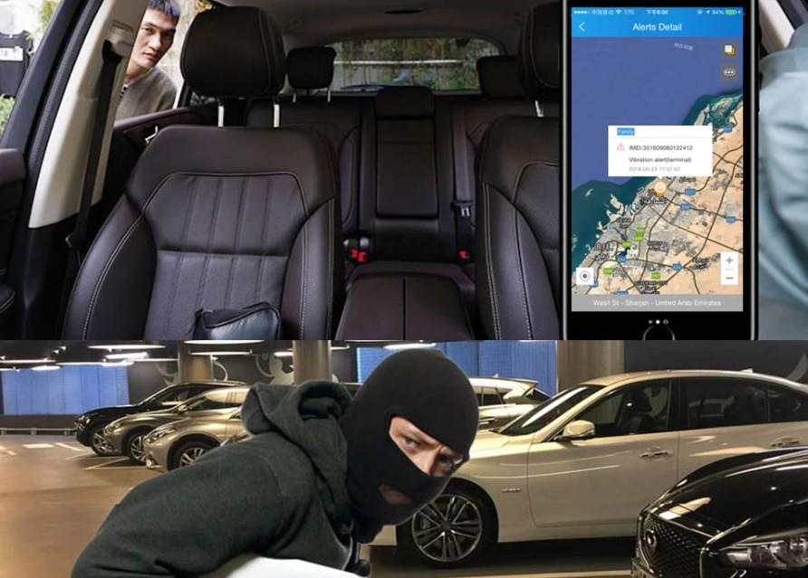 kamery do auta s vibračným alarmom