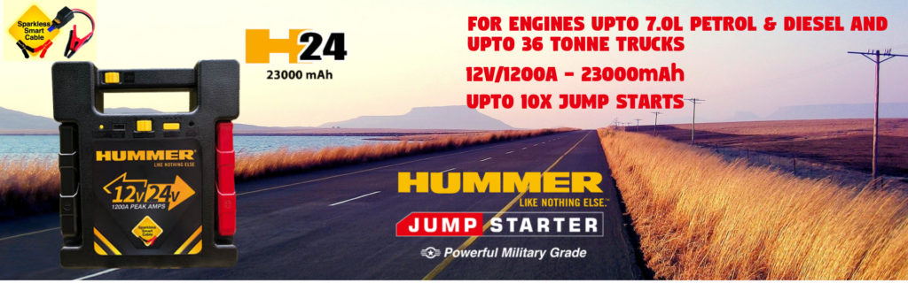 snažni autostater Hummer H24 za 7-litarske benzinske / 6-litarske dizelske motore
