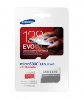 Samsung micro EVO Plus SDXC 128GB + SD adaptér